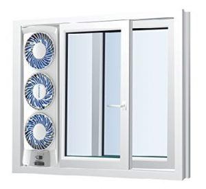 Vertical Window Fan In Sliding Window