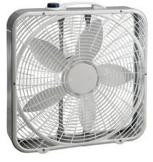 use fans in place of air conditioning